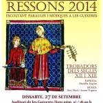 2014 09 27 Cartell Jornades Europees del Patrimoni Ressons